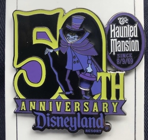 The Haunted Mansion 50th anniversary Cast Member pin pin