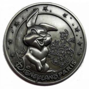 Thumper - Medallion pin