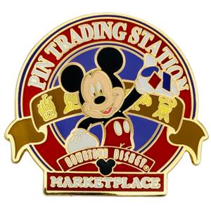 Pin Trading Station - Downtown Disney Marketplace pin