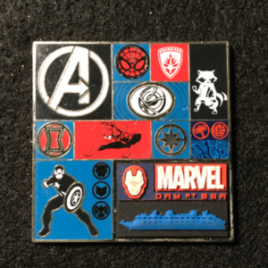 DCL Marvel Day at Sea Heros pin