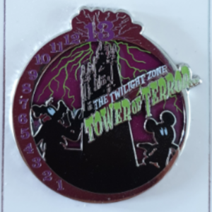 The Twilight Zone Tower of Terror pin