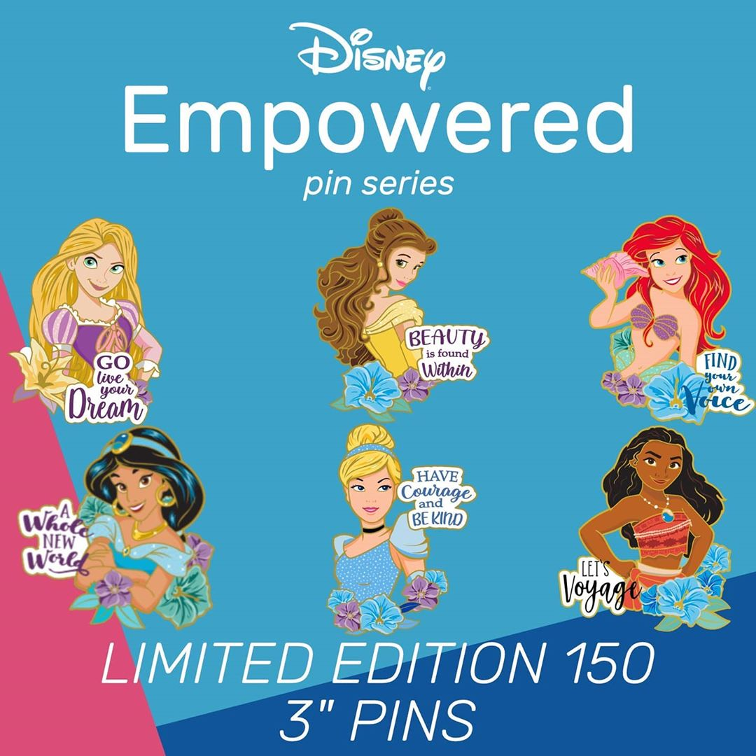 Disney Empowered Pin Series Preview