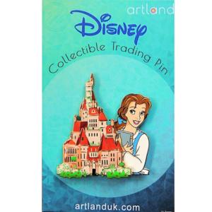 Belle - Beast's Castle - Princess and the Castle Artland pin
