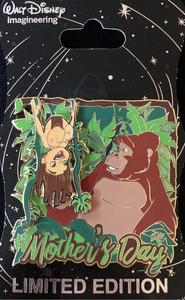 WDI - Mother's Day 2018 - Kala and Tarzan pin