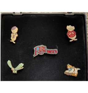 The Rescuers Box pin set  pin