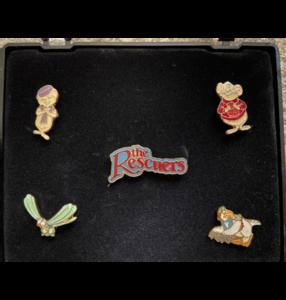 The Rescuers Box pin set  pin