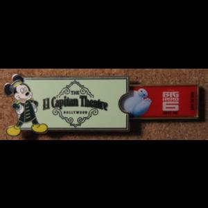 El Capitan Ticket - Big Hero 6 pin