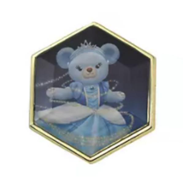 Blue Rose - UniBEARsity Pin Badge Set Crystal Art UniBEARsity 10th ANNIVERSARY pin