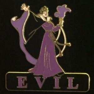Evil Queen Evil - Expressions Series pin