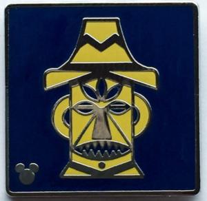 Enchanted Tiki Room - Hidden Mickey Attraction Icons pin