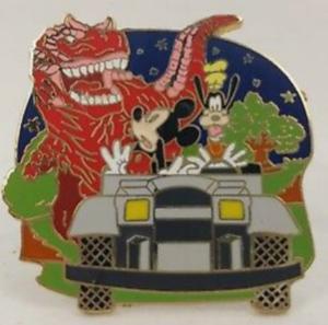 Dinosaur - Walt Disney World Mystery Attractions pin