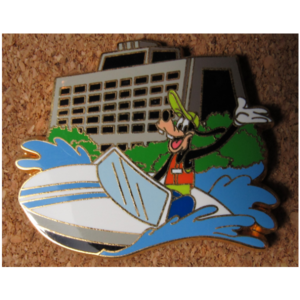 Goofy at the Contemporary Resort - WDW Deluxe Starter Set pin