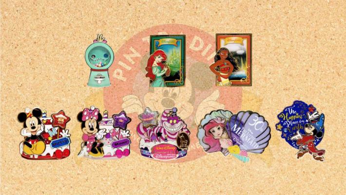 Hong Kong Disneyland November 2019 pin releases