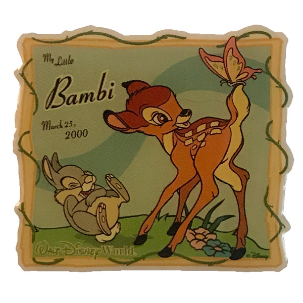 WDW - WDCC - My Little Bambi -Sculpture Event pin