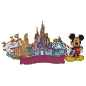 Disneyland Park - Mickey & Attractions pin