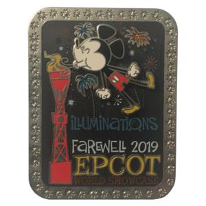 Illuminations Farewell 2019 pin
