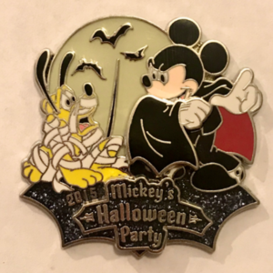 Mickey's Halloween Party (DL) 2015 pin
