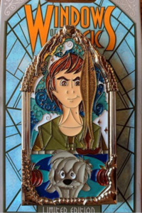 Taran and Gurgi - Windows of Magic pin