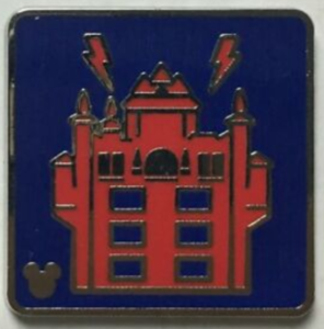 Tower of Terror - Hidden Mickey Attraction Icons pin