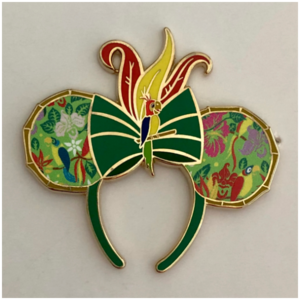Main Attraction Tiki Room ears pin