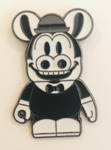 Horace Horsecollar in a suit pin