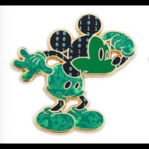 Mickey technology head scratch pin