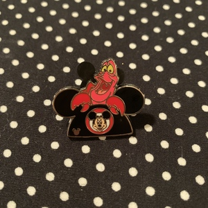 Sebastian - Hidden Mickey Ear Hat pin