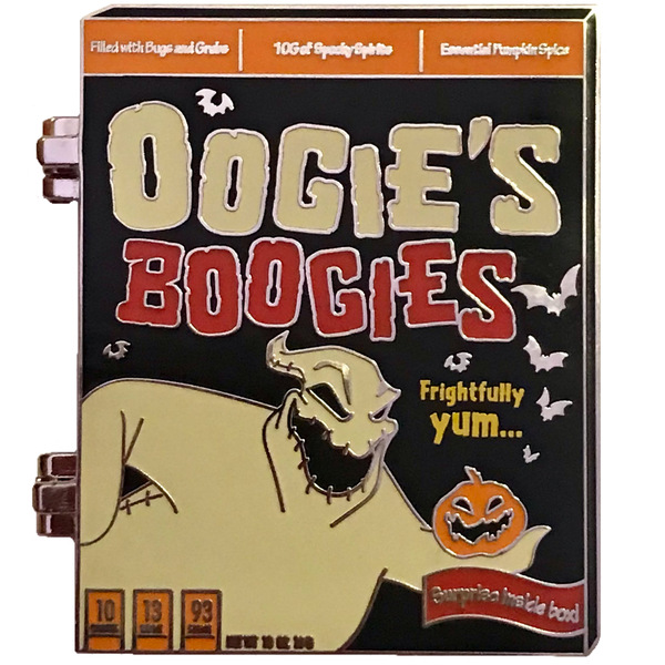 POM Cereal Boxes - Nightmare Before Christmas - Oogie's Boogies pin