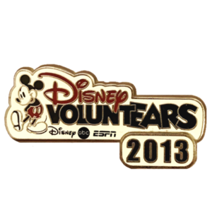 Disney Store Cast Voluntears 2013 pin