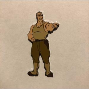 Disney Auctions - Commander Rourke pin
