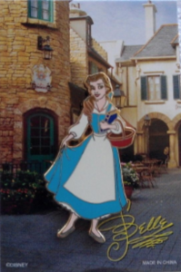 Belle - Character Pin Card Collection pin