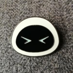 Laughing Eve Wall-E Emoji pin
