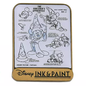 Ink & Paint Sorcerer Mickey  pin