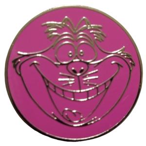 Cheshire Cat Circle  pin