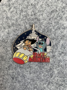 Space Mountain - Walt Disney World Mystery Attractions pin