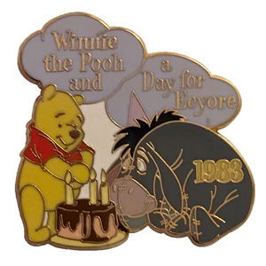 Winnie the Pooh and a Day For Eeyore 1983 - 100 Years of Dreams (21/100) pin