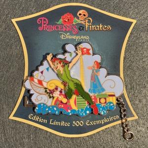 DLP - Peter Pan and Wendy (Princesses et Pirates) pin
