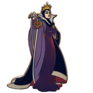 Disney Parks Collection Evil Queen with Poison Apple pin