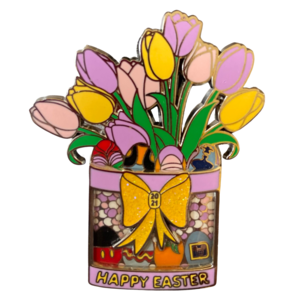 Easter bouquet 2021 pin
