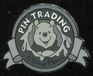 Winnie the Pooh (B&W) - Keep on Trading Mystery Collection pin