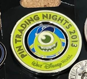 Mike Wazowski Pin Trading Nights 2013 pin