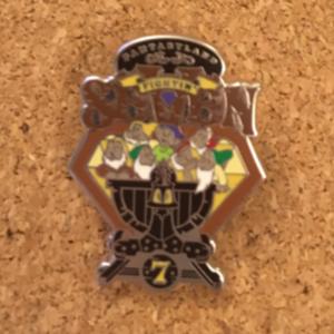 Disney Mascots: Fantasyland Fightin' Seven pin