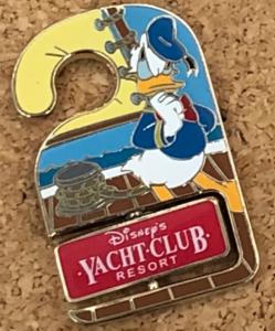 Yacht Club - Disney World Do Not Disturb pin