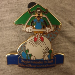Goofy Soarin pin