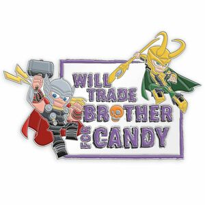 Thor & Loki: Will Trade Brother For Candy pin