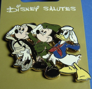 Disney Salutes Armed Forces Day pin