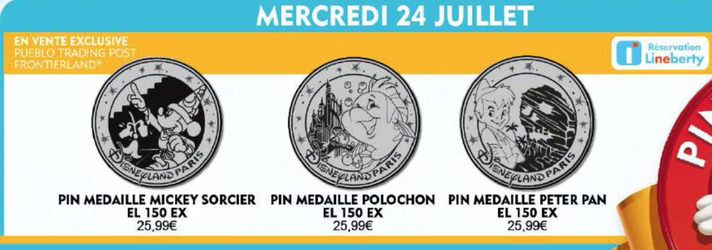 Medallion style Pins