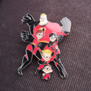 The Incredibles pin