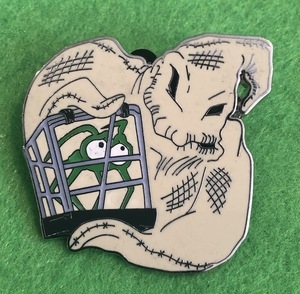 Oogie Boogie with a captured spider pin
