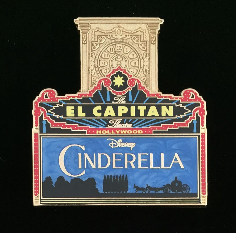 An example of a pin that heavily features El Capitan